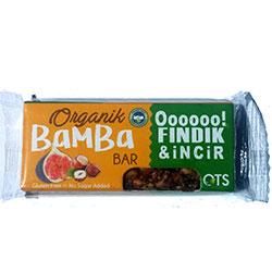 OTS Organic Bamba Fruit Bar  Hazelnut & Fig  30g