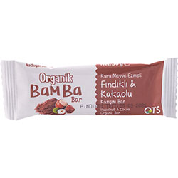OTS Organik Bamba Bar  Fındık & Kakao  30g