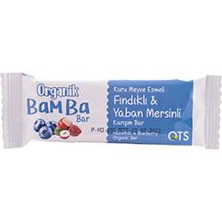OTS Organik Bamba Bar  Fındık & Yabanmersini  30g