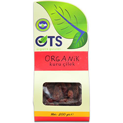 OTS Organik Çilek Kurusu 200gr