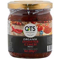 OTS Organik Acılı Domates Ezmesi 200g