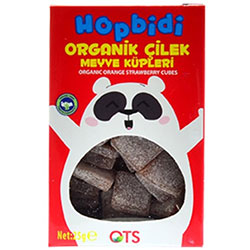 OTS Organic Hopbidi Strawberry Cubes 25g