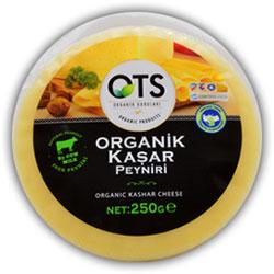 OTS Organik Kaşar Peyniri 250gr