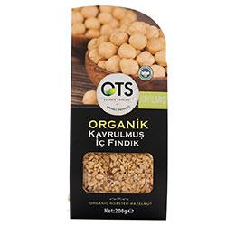 OTS Organik Kavrulmuş İç Fındık (Kıyılmış) 200gr