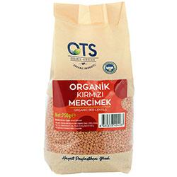 OTS Organic Red Lentils 750g