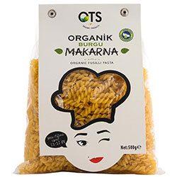 OTS Organik Makarna  Burgu  500g