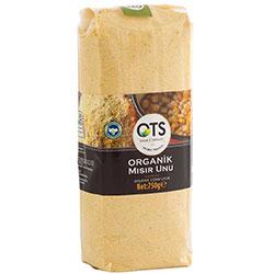 OTS Organik Mısır Unu 750gr