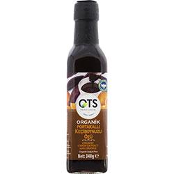 OTS Organic Carob Syrup  With Orange  Cold Press  340g