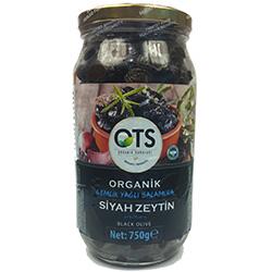 OTS Organik Siyah Zeytin (Gemlik Yağlı Salamura) 750gr
