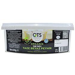 OTS Organic Fresh White Cheese 650g