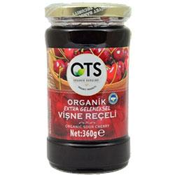OTS Organic Sour Cherry Jam  Extra Traditional  360g
