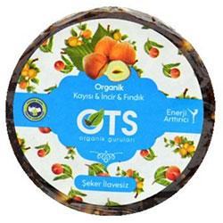 OTS Organic Energy Disc  Apricot & Fig & Hazelnut  25g