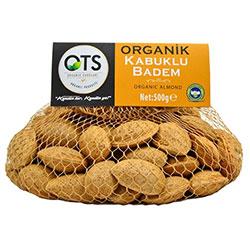 OTS Organic Unshelled Almond 500g