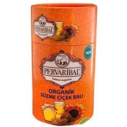 Pervari Bal Organik Süzme Çiçek Balı (Filtre edilmemiş Ham Bal) 450gr