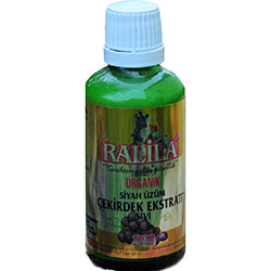 Ralila Organik Siyah Üzüm Çekirdeği Özü (Sıvı) 50ml