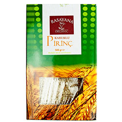Rasayana Organik Kabuklu Pirinç (Karacadağ) 500gr