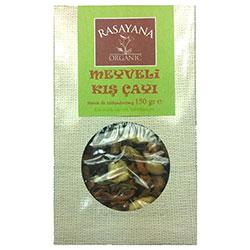 Rasayana Organik Meyveli Kış Çayı (Stevia ile Tatlandırılmış) 150gr