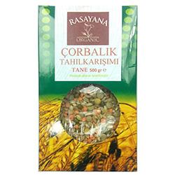 Rasayana Organik Çorbalık Tahıl Karışımı (Tane) 500gr