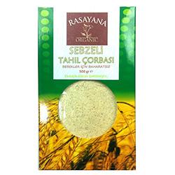 Rasayana Organik Sebzeli Tahıl Çorbası Karışımı (Bebek Çorbası) 500gr