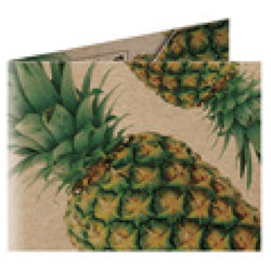 Refogrami Origami Papper Wallet  Pineapple