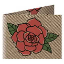 Refogrami Kraft Origami Cüzdan  Rose