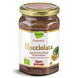 Rigoni di Asiago Nocciolata Organik Kakaolu ve Sütlü Fındık Kreması 270gr