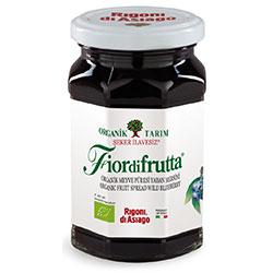 Rigoni di Asiago Fiordifrutta Organik Yabanmersini Püresi (Reçel) 250gr