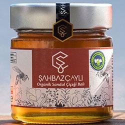 Şahbaz Çaylı Organik Sandal Çiçeği Balı 320g