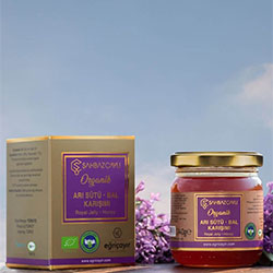 Şahbaz Çaylı Organic Royal Jelly + Honey Mix 240g