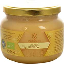 Şahbaz Çaylı Organic Creamed Flower Honey 450g