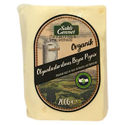 Saklı Cennet Organik Klasik Peyniri (Keçi & İnek, Olgunlaştırılmış) 200gr