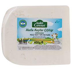 Saklı Cennet Organik %100 Keçi Taze Beyaz Peynir 400gr