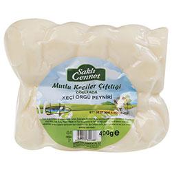 Saklı Cennet Organik Örgü Peyniri (Keçi-İnek) 400gr