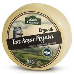 Saklı Cennet Organik Taze Kaşar Peyniri (Keçi-İnek) 400gr