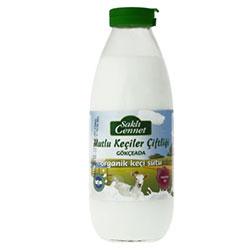 Saklı Cennet Organik Günlük Pastörize %100 Keçi Sütü 500ml