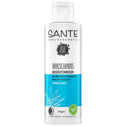 SANTE Organik Canlandırıcı Yüz Toniği  Tüm Cilt Tipleri  Aloe Vera & Chia Tohumu  125ml