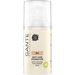 SANTE Organic Soft Care Foundation  04 Warm Honey  30ml