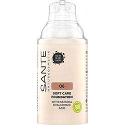 SANTE Organic Soft Care Foundation  06 Neutral Amber  30ml