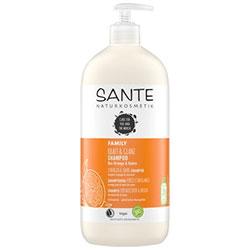 Sante Organic Strength & Shine Shampoo  Orange & Coconut  950ml