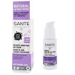 SANTE Organik Kırışıklık Önleyici Gündüz Kremi (Çay Karışımı & Diş Otu) 30ml