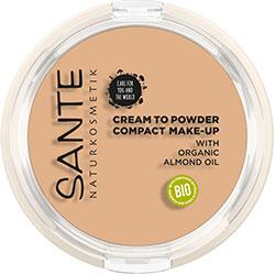 Sante Organic Compact Make up  01 Cool Ivory