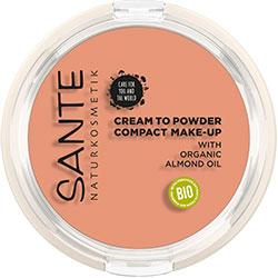 Sante Organic Compact Make up  02 Warm Meadow