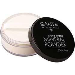 SANTE Organic Loose Matte Mineral Powder  01 Light Beige