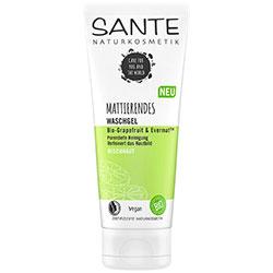 SANTE Organik Matlaştırıcı Yüz Temizleme Jeli  Karma Cilt  Greyfurt & Evermat  100ml