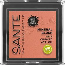 SANTE Organic Mineral Blush  02 Coral Bronze