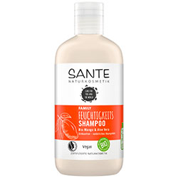 Sante Organic Moisturizing Shampoo  Mango & Aloe Vera  250ml
