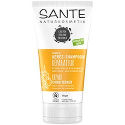 SANTE Organik Onarıcı Saç Bakım Kremi  Zeytinyağı & Bezelye Proteini  150ml