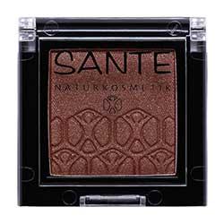 SANTE Organik Organik Tekli Göz Farı (05 Işıltılı Kahverengi)
