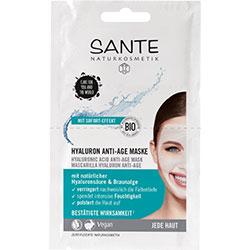 SANTE Organik Yaşlanmayı Geciktirici Hyalüronik Maske 2x4ml Saşe