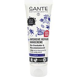 Sante Organic Intensive Repair Hand Creme  Sheabutter& Macadamia Oil  75ml